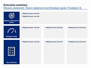 simple strategic plan template by ex mckinsey consultants With strategy document template mckinsey