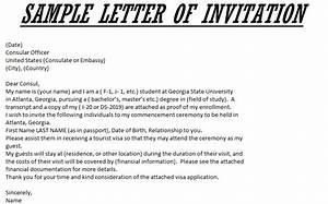 invitation letter for us visitor visa template best With invitation letter for visitor visa uk template