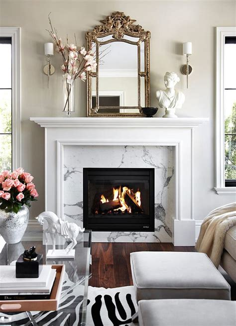 1000+ Ideas About White Fireplace Mantels On Pinterest