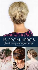 Gorgeous Prom Updos for Dancing the Night Away more
