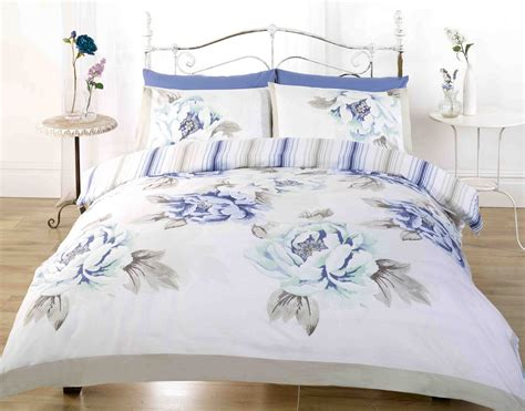 shabby chic bedding duvet cover floral duvet cover in double kingsize flowery bed linen shabby chic new ebay