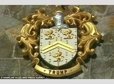 Donald Trump's coat of arms heraldry