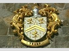 Donald Trump wins right to use family crest from Scottish