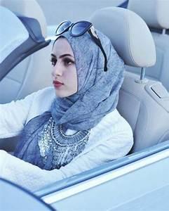 New Easy and Beautiful Hijab Style 2016-17 - HijabiWorld