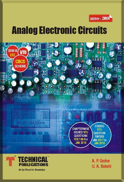 Analog Electronic Circuits Bakshi Pdf