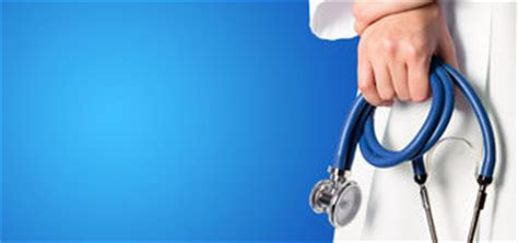 foto de Nurse With Medical Blue Background Stock Image Image of