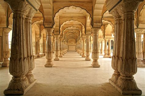 mughal pillars wallpaper  decor