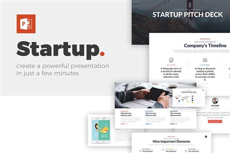 startup pitch deck powerpoint template