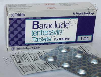 baraclude patient information description dosage