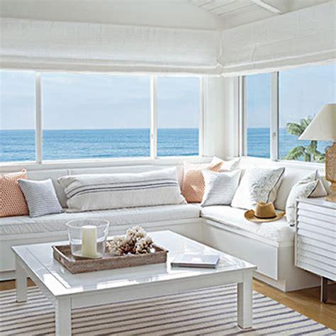 Beach Living Room Ideas by A Beachy Life Beach House Decor