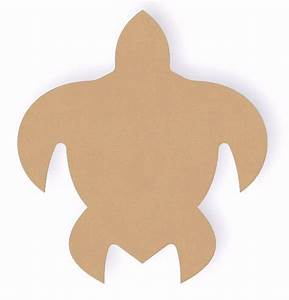 6 inch sea turtle wood cutout shape crafts shape and With templates for wood cutouts