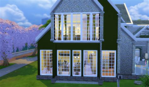 mod the sims colonial build windows