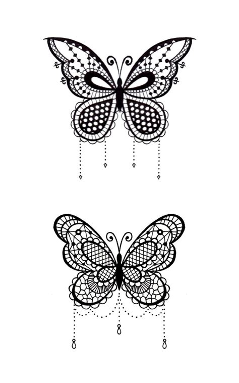 butterfly tattoos ideas  pinterest black