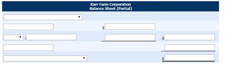 Solved: The Adjusted Trial Balance For Karr Farm Corporati ...