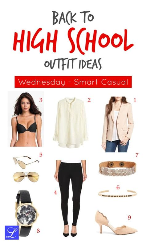 High School Outfits - 5 Ideas that Are Cute Sexy Cool and Smart - ufe0f Metropolitan Girls ufe0f
