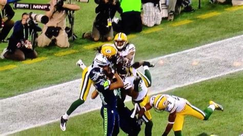 ridiculous call  greenbay packers  seattle seahawks