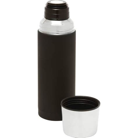 Grinding stones diameter (fat type) : 32oz Black Rubber SS Vacuum Insulated BOTTLE Coffee Container Thermos Beverage | eBay