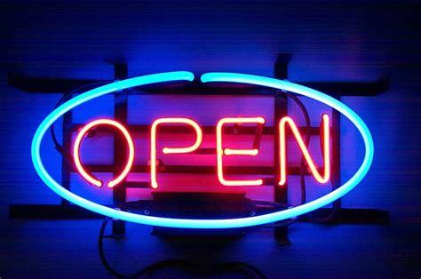 neon bar lights open bar neon light sign 15 x 12 neon