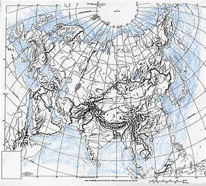 Physical Map Of Northern And Central Eurasia