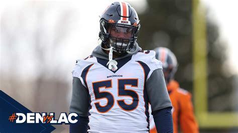 Broncos downgrade OLB Bradley Chubb to out for #DENvsLAC ...