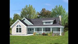 country ranch house plans with wrap around porch With ranch home designs with porches