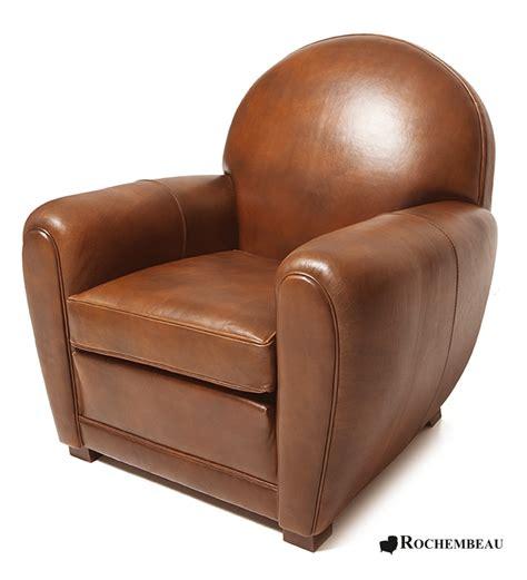 bhv canape fauteuil newquay fauteuil en cuir basane rochembeau