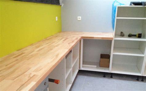 plans de travail cuisine sur mesure aménager sa cuisine ouverte sur mesure le du bois