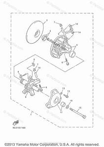 Yamaha Snowmobile 2002 Oem Parts Diagram For Alternate