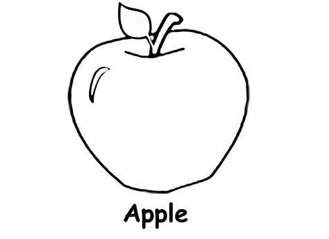apples  bananas coloring pages   print