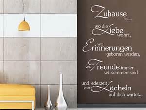 schlafzimmer wände gestalten wandtattoo zuhause ist wo die liebe wohnt erinnerungen geboren werden wandtattoo de