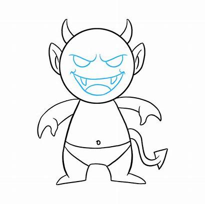 Demon Drawing Draw Step Easy Really Tutorial