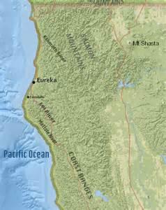 Northern California Map