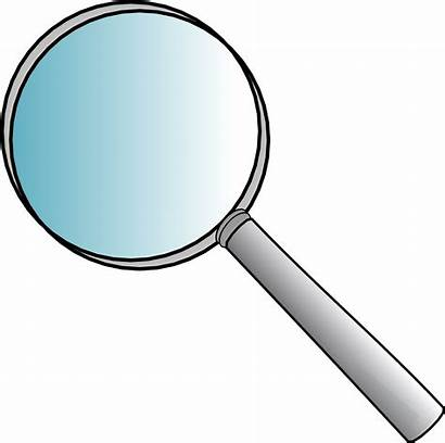 Glass Magnifying Clipart Anonymous Word