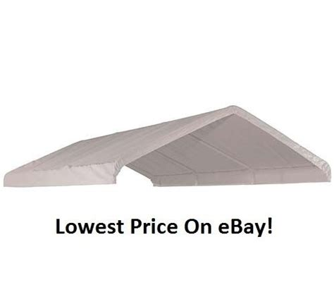 xx costco shelterlogic replacement canopy top cover     ebay