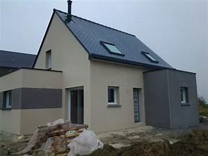 enduit exterieur fini construction d39une maison d With pose de crepi exterieur video