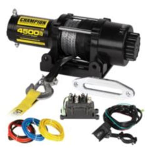 Boat Trailer Winch Canadian Tire by Chion Synthetic Rope Winch Kit 4 500 Lbs Canadian Tire
