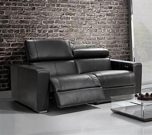 Sofa Inclinable En Cuir Table De Lit
