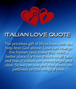 Italian Love Quotes With English Translation: Best italian ...