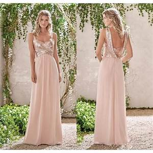 aliexpresscom buy 2017 new rose gold bridesmaid dresses With gold wedding bridesmaid dresses