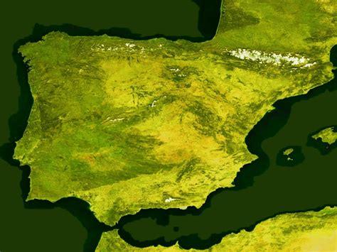Ģeogrāfiskā karte - Spānija - 3,200 x 2,400 Pikselis - 1.7 ...