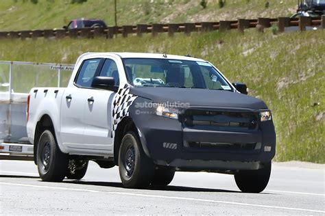 2015 Ford Ranger Interior Spied