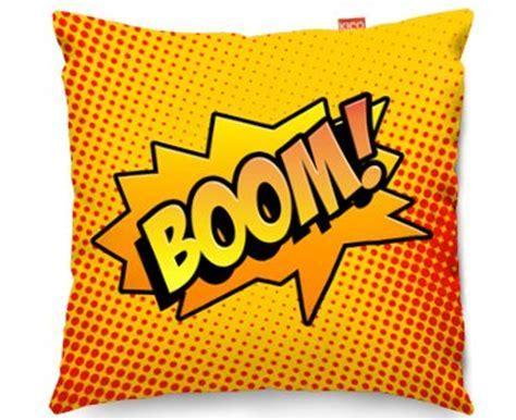 Kico Comic Pop Art 45x45cm Funky Sofa Cushion   Boom! at