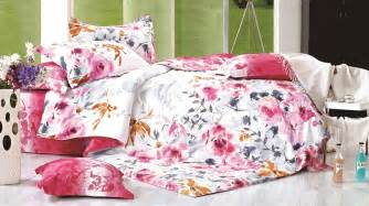 skipper red cotton double bed sheet set trendy mods com