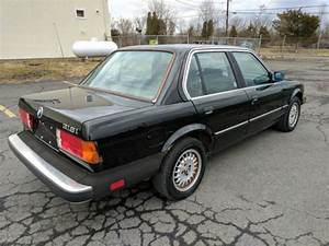 1985 Bmw 318i 4 Door Manual Transmission 1 Owner  Black On