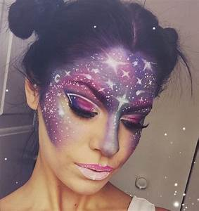 Make Up Ideen : galaxy make up der hei este schminktrend aus dem instagram ~ Buech-reservation.com Haus und Dekorationen