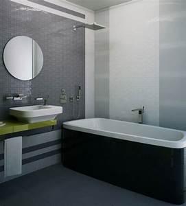 Black And White Gray Bathroom Wwwimgkidcom The Image