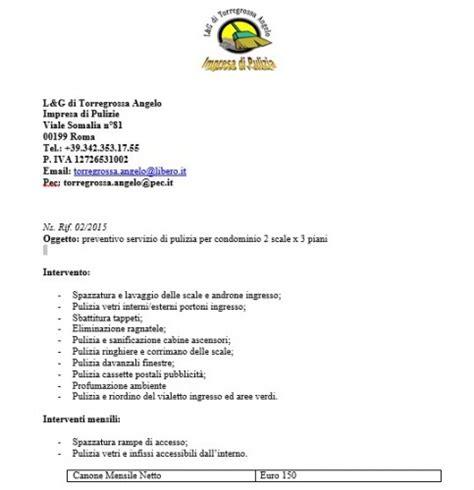 lettera al condominio mobili lavelli esempio preventivo giardinaggio condominio