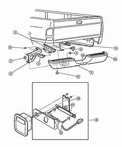 Dodge Ram 1500 Panel  License Plate  Padsbumper