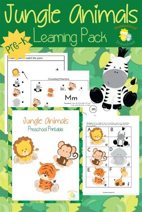 free jungle animal pack free homeschool deals 733   cap 43 684x1024
