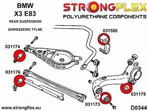 Bmw E36 E46 Rear Control Arm Upper Inner Polyurethane